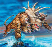 A Besta de dois chifres de Apocalipse 13